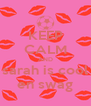KEEP CALM AND sarah is cool en swag - Personalised Poster A4 size