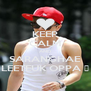 KEEP CALM AND SARANGHAE LEETEUK OPPA ♥ - Personalised Poster A4 size