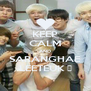 KEEP CALM AND SARANGHAE LEETEUK ♥ - Personalised Poster A4 size