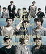 KEEP CALM AND Saranghae Super Junior - Personalised Poster A4 size