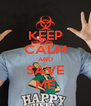 KEEP CALM AND SAVE ME - Personalised Poster A4 size