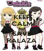 KEEP CALM AND SAVE RALAZA - Personalised Poster A4 size