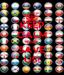 KEEP CALM AND SAVE US! - Personalised Poster A4 size