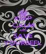 KEEP CALM AND SAVE YOURSEFL - Personalised Poster A4 size