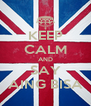 KEEP CALM AND SAY AING BISA - Personalised Poster A4 size
