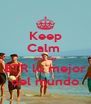 Keep Calm  and say BTR lo mejor del mundo - Personalised Poster A4 size