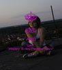 "KEEP CALM AND SAY ""Happy B-day,Pereverzeva"" - Personalised Poster A4 size"