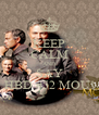 KEEP CALM AND SAY HBD #52 MOU! - Personalised Poster A4 size
