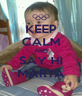 KEEP CALM AND SAY HI MARTA - Personalised Poster A4 size