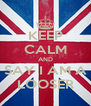 KEEP CALM AND SAY I AM A LOOSER - Personalised Poster A4 size