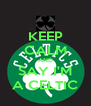 KEEP CALM AND SAY I'M A CELTIC - Personalised Poster A4 size