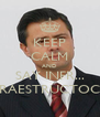 KEEP CALM AND SAY INFR... INFRAESTRUCTOCHO - Personalised Poster A4 size