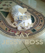 KEEP CALM AND SAY JESSY BOSS - Personalised Poster A4 size