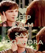KEEP CALM AND SAY LOGANDRA - Personalised Poster A4 size