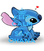 KEEP CALM AND SAY OHANA - Personalised Poster A4 size