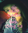 KEEP CALM AND Say : Omg <3 - Personalised Poster A4 size