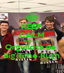 KEEP CALM AND say Orgullosa de  Big Time Rush - Personalised Poster A4 size