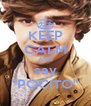 "KEEP CALM AND say ""POCITO"" - Personalised Poster A4 size"