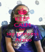 KEEP CALM AND say princess  Arzoo - Personalised Poster A4 size