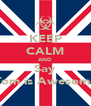 KEEP CALM AND Say Tom is Awesome - Personalised Poster A4 size