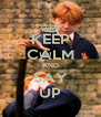 KEEP CALM AND SAY UP - Personalised Poster A4 size