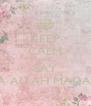 KEEP CALM AND SAY YA ALLAH MADAD - Personalised Poster A4 size