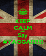 KEEP CALM AND Say #YAGGA!!!!!!!! - Personalised Poster A4 size