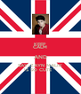 KEEP CALM AND SAY:,,ZAYN MALIK IS SO CUTE ''  - Personalised Poster A4 size