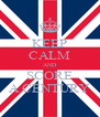 KEEP CALM AND SCORE A CENTURY - Personalised Poster A4 size