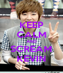 KEEP CALM AND SCREAM KEVIN - Personalised Poster A4 size
