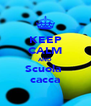 KEEP CALM AND Scuola  cacca - Personalised Poster A4 size