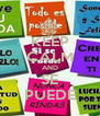 KEEP CALM AND SE PUEDE - Personalised Poster A4 size