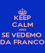 KEEP CALM AND SE VEDEMO  DA FRANCO - Personalised Poster A4 size