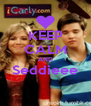 KEEP CALM AND Seddieee  - Personalised Poster A4 size