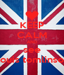 KEEP CALM AND see Louis tomlinson - Personalised Poster A4 size