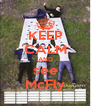 KEEP CALM AND see McFly - Personalised Poster A4 size