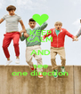 KEEP CALM AND see one direction - Personalised Poster A4 size