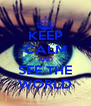 KEEP CALM AND SEE THE WORLD - Personalised Poster A4 size