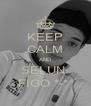 KEEP CALM AND SEI UN  FIGO *-*  - Personalised Poster A4 size
