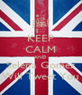 KEEP CALM AND Selena Gomez Will Tweet You - Personalised Poster A4 size