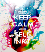 KEEP CALM AND SELL INKT - Personalised Poster A4 size