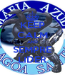 KEEP CALM AND SEMPRE LIDER - Personalised Poster A4 size