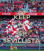 KEEP CALM AND SER  SEVILLISTA - Personalised Poster A4 size