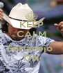 KEEP CALM AND Sertanejo  ON - Personalised Poster A4 size