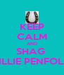 KEEP CALM AND SHAG  MILLIE PENFOLD  - Personalised Poster A4 size