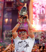KEEP CALM AND shake that bottle  and make it pop - Personalised Poster A4 size