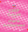 KEEP CALM AND share Ambareen - Personalised Poster A4 size