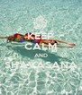 KEEP CALM AND SHAVASANA  - Personalised Poster A4 size