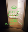 KEEP CALM AND SHE WANTS IT - Personalised Poster A4 size