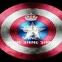 KEEP CALM AND SHINE,  SHINE SHINE SHINE - Personalised Poster A4 size